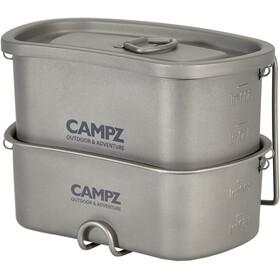 CAMPZ Titanium Canteen Set